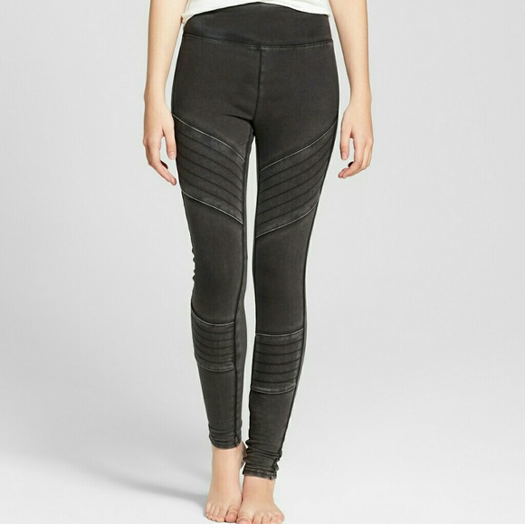 0f45c6e415609 Mossimo Supply Co. Pants | Mossimo High Waist Moto Legging Washed ...